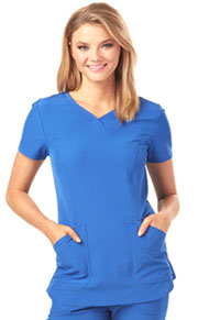 Break on Through Mock Wrap Top (HS619-ROYH) (HS619-ROYH)