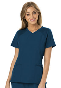 HeartSoul Love 2 Love U V-Neck Top Caribbean Blue (HS660-CABH)