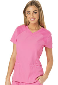 Love 2 Love U V-Neck Top Pink Party (HS660-PNKH)