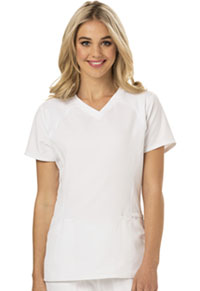 HeartSoul Love 2 Love U V-Neck Top White (HS660-WHIH)