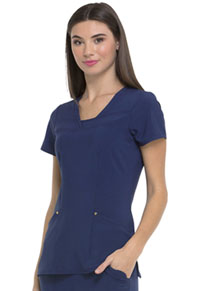 HeartSoul Love Always V-Neck Top in Navy (HS665-NYPS)