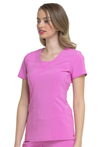 "HeartSoul Love Always ""Serenity"" V-Neck Top in Pink Me Up (HS665-PMUH)"