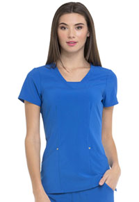 Heartsoul V-Neck Top Royal (HS665-RYPS)