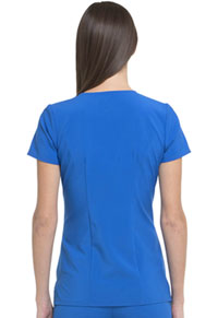 "HeartSoul Love Always ""Serenity"" V-Neck Top in Royal (HS665-RYPS)"