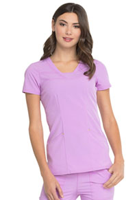 HeartSoul Serenity V-Neck Top Sweet Lilac (HS665-STIL)