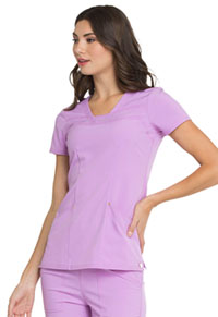 HeartSoul Love Always V-Neck Top in Sweet Lilac (HS665-STIL)