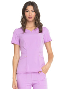 Lovely V-Neck Top Sweet Lilac (HS670-STIL)