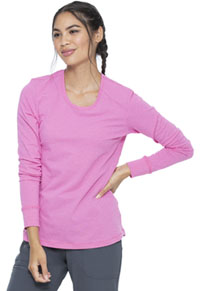 Heartsoul Underscrub Knit Tee Pink Party Polka Dot (HS672-PKPD)