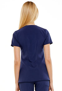 "HeartSoul Love Always ""Heartfelt"" V-Neck Top in Navy (HS675-NYPS)"