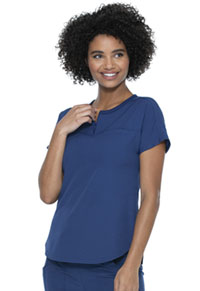 Heartsoul Tuckable Round Neck Top Navy (HS689-NAYH)