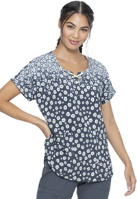 Heartsoul Round Neck Top Daisy Drizzle (HS698-DYLD)