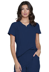 Heartsoul V-Neck Top Navy (HS710-NAYH)