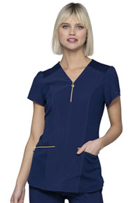 HeartSoul V-Neck Top Navy (HS715-NYPS)
