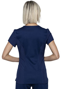 HeartSoul Love Always V-Neck Top in Navy (HS715-NYPS)