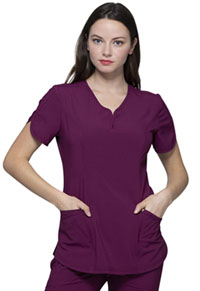 Heartsoul V-Neck Top Wine (HS725-WNPS)
