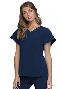 HeartSoul V-Neck Top Navy (HS735-NYPS)