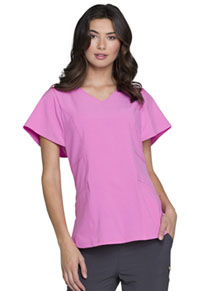 "HeartSoul Love Always ""Magical"" V-Neck Top in Pink Me Up (HS735-PMUH)"