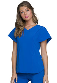 Heartsoul V-Neck Top Royal (HS735-RYPS)