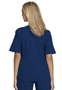 "HeartSoul Break on Through ""Princess"" Mock Wrap Top in Navy (HS740-NAYH)"