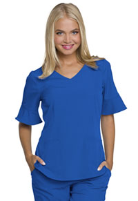 "Break on Through ""Princess"" Mock Wrap Top (HS740-ROYH) (HS740-ROYH)"