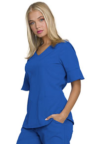 "HeartSoul Break on Through ""Princess"" Mock Wrap Top in Royal (HS740-ROYH)"