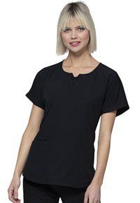Break on Through Round Neck Top (HS745-BCKH) (HS745-BCKH)