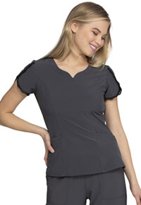 Heartsoul V-Neck Top Pewter (HS760-PWPS)