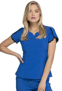 Heartsoul V-Neck Top Royal (HS760-RYPS)