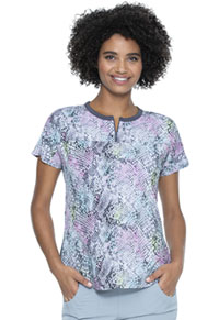HeartSoul Prints Round Neck Tuck-in Top (HS800-STHS) (HS800-STHS)
