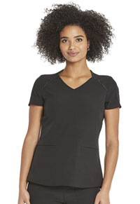Heartsoul V-Neck Top Black (HS830-BCKH)