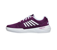 K-Swiss INFINITEFUN Grape Juice, White (INFINITEFUN-GJWH)