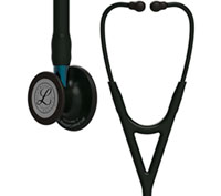 Littmann Cardiology IV Diagnostic Stethoscope Pop Black (L6201BE-BK)