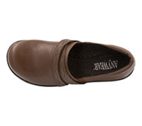 Anywear Footwear Leather Step In Brown (MARIAH-BRN)