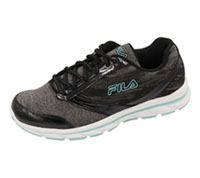 Fila USA Athletic Footwear Black,CastleRock,ArubaBlue (MEMORYTEMPERA-F009)