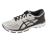 Asics Footwear Premium Athletic Silver,Black,MidGrey (MKAYANO-SBG)