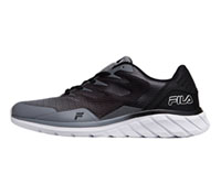 Fila USA MMEMORYCOUNT9 Monument, Black, White (MMEMORYCOUNT9-MMBW)