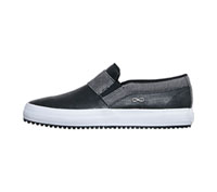Infinity Footwear MRUSH Black/Grey Print/White (MRUSH-BPGW)