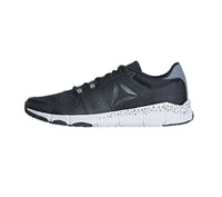 Reebok Athletic Footwear Black,Alloy,White (MTRAINFLEX2-BAWW)