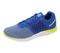 Reebok Athletic Footwear AwesomeBlue,White,Yellow,Silve (MZPRINTRUN-BWYS)