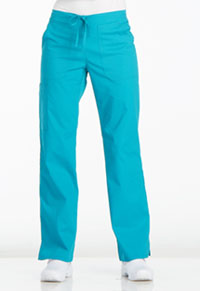 Sanibel Drawstring Cargo Pant Teal Blue (PL001-TLB)