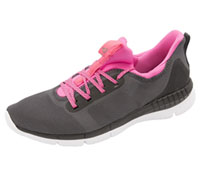 Reebok Premium Athletic Footwear AshGrey,Black,White,SolarPink (PRINTHER2-ABWS)