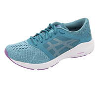Asics Premium Athletic Footwear Aquarium,White,Orchid (ROADHAWK-AWO)