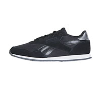 Reebok Athletic Footwear Black,SilverMetallic,White (ROYALULTRASL-BSMW)