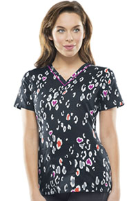 Runway V-Neck Top Lovely To Meet Zoo (RW606X8-LVZO)