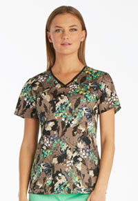 Runway V-Neck Top Flutter Fantasia (RW607-FLFA)