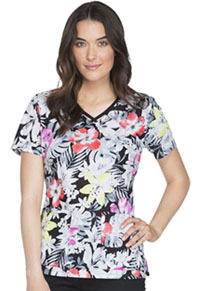 Runway V-Neck Top Spec-tropical (RW607-STPC)