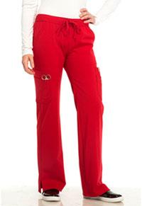 Sapphire Vienna Mid Rise Straight Leg Pant Ruby Red (SA100A-RRDS)