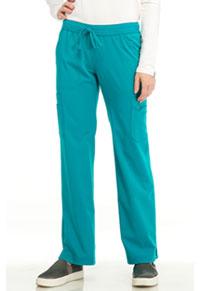 Sapphire Vienna Mid Rise Straight Leg Pant Teal Blue (SA100A-TLB)