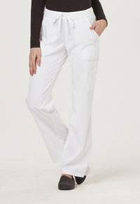Sapphire Vienna Mid Rise Straight Leg Pant White (SA100A-WTES)