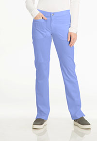 Sapphire Roma Low Rise Zip Fly Slim Pant Ciel Blue (SA101A-CIE)